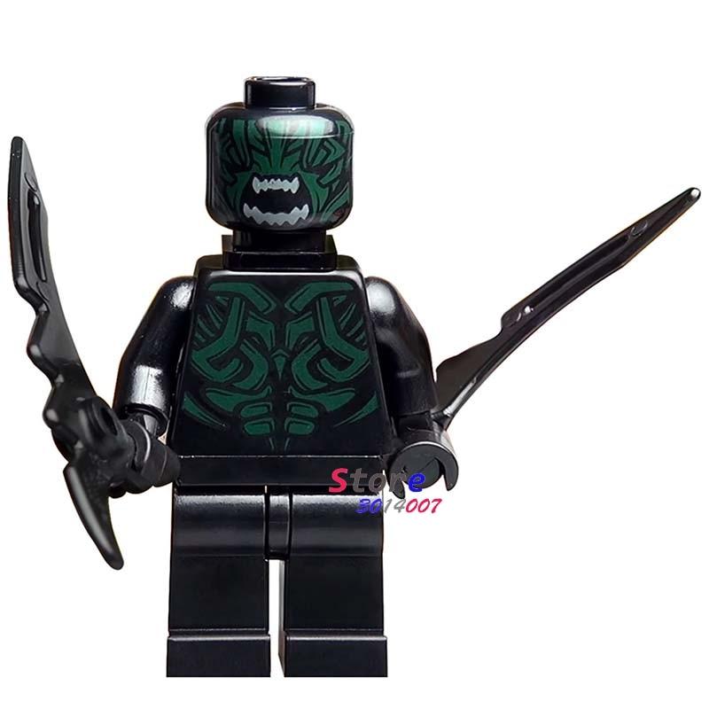 50pcs super heroes marvel dc comics model Thor Ragnarok Berserker building blocks bricks friends hobby toys
