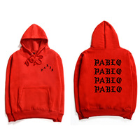 Professional Dropshipping Hip Hop Hoodies Men I Feel Like Pablo Streetwear Hoodie Sweatshirts 3