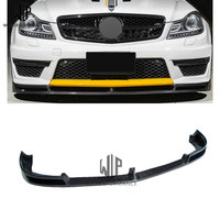 C Class Carbon fiber v type Rear Wings trunk Lip Spoiler Car body kit For Mercedes Benzds W204 C63 12 UP Car styling use