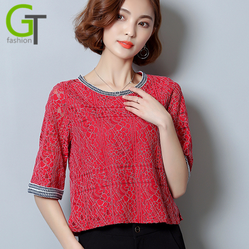 Popular  Women Vintage White Office Blouse Female OL Work Tops Plus Size Women