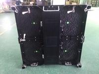 P4.81 500mm x 500mm Die casting Aluminum LED Cabinet Panel Ultra Slim Outdoor Energy saving P4.81mm 250x250mm module,P3.91 P5 P6