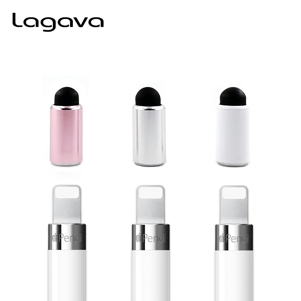 3Pcs a set Stylus Pencil Magnetic Tip for Apple Pencil, Pen Cap With Conductive Nib for iPad Pro 10.5 9.7 12.9 Pen Accessory