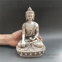 Antyczne antyczne Tybetański Buddyzm w Nepalu ręcznie produktów ze stopu miedzi i niklu Autentyczne Zabytkowe Tantryczny Buddy