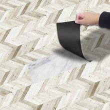 Nueva sala de cocina pegatinas antideslizantes creativo resistente al aceite de piso de PVC pegatinas de alta calidad