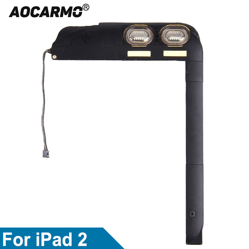 Aocarmo For IPad 2 2 Gen A1395 A1397 Loud Speaker Buzzer Ringer Flex Cable Ribbon Replacement