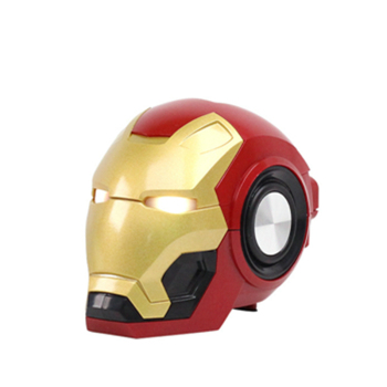 Altavoz Bluetooth de Iron Man para niños, Mini Altavoz luz intermitente LED...