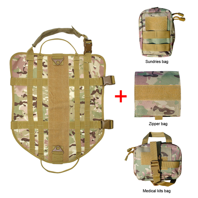 Tactical Dog Training Vest Harness