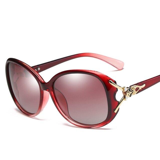 e35babb9564 Woman Polarized Sunglasses Fashion Sun Glasses Outdoor Sports Women  Eyeglasses Top Quality Driving Fishing Anti Glare