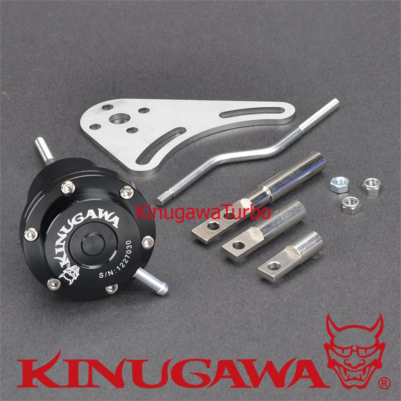 Kinugawa Adjustable Turbo Wastegate Actuator for Garrett GT25 GT28 GT30 GT35 1.0 bar / 14.7 Psi