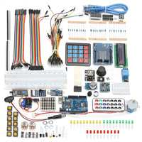 1PC Ultimate UNO R3 Starter Kit For Arduino SPI Bluetooth LCD1602 PIR RTC DHT11 Module Integrated