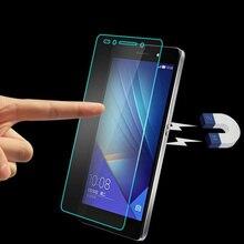 Honor 7 frente tampa do telefone protetor de tela 2.5d 9 h vidro temperado película protetora acessório móvel para huawei honor 7