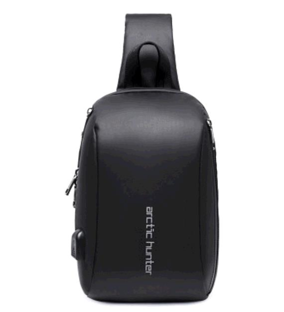 New Style Mens Chest Shoulder Bag Crossbody Large Multi-Function Small Backpack Fashion Korean Version