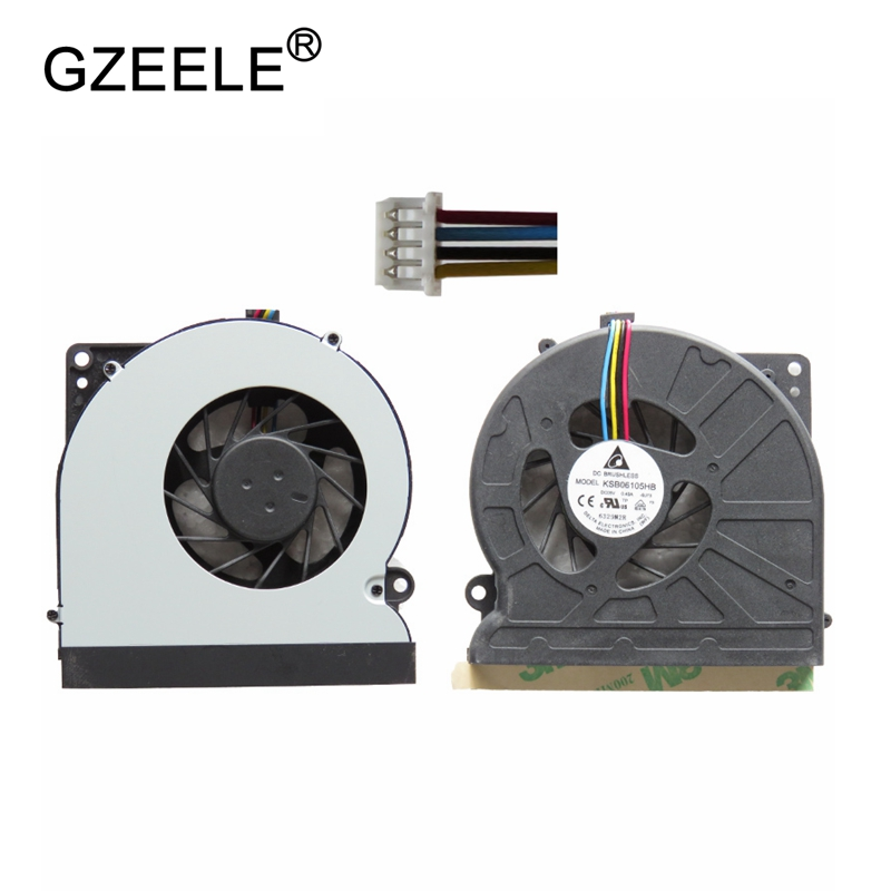 GZEELE New Laptop cpu cooling fan for N64X K72 K52N K52J N71JQ N71JV N71JA N61 N61J N61V K52 K52F A52F A52JK A52 N61 cooler