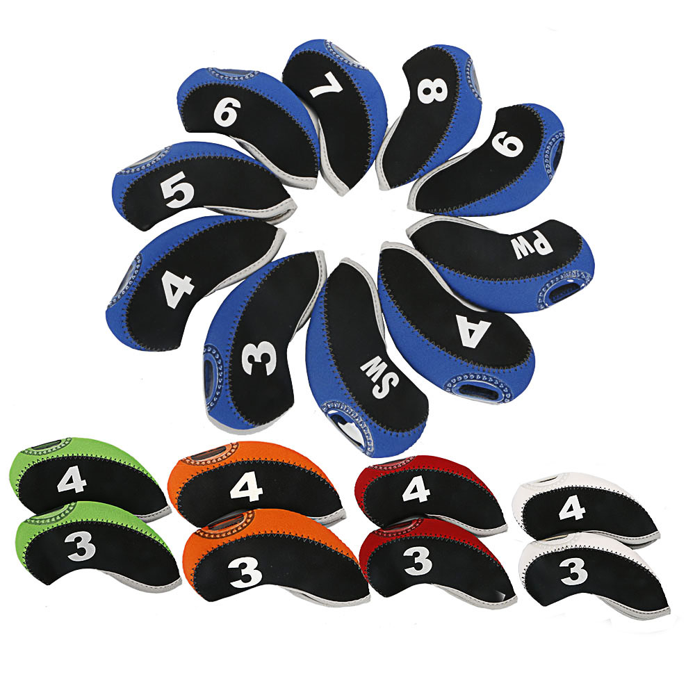 Golf Clubs Iron Head Cover Set 10pcs/lot