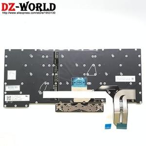 Image 3 - New Original US English Keyboard with Backlit For Thinkpad P1 X1 Extreme Laptop SN20R58769 SN20R58841 01YU756 01YU757