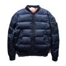 Зима ma1 для ввс пилот любителей тепловой мужчин и женщин верхняя одежда куртка утолщение ватные куртки плюс размер одежды