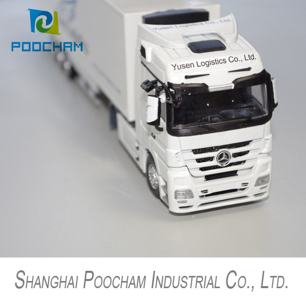1:50 Yusen Logistics shipping truck model, diecast delivery