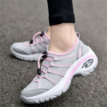 Купить с кэшбэком 2017 Sneakers women shoes Running shoes women Sport Shoes woman Air cushion Outdoor Walking Jogging mujer Breathable Mesh Summer
