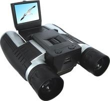 Cheaper FHD 1920*1080 Digital Telescope Camera FS608R 2.0″LTPS Display 12*32 Binoculars Camera 96/1000M Wide Viewing TF Card Max To 32GB