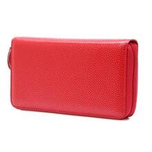 Купить с кэшбэком Korea Fashion Long Solid Women Wallets Zipper PU Leather Wallet Female Coin Purse Clutch Money Women Wallet Mujer Portefeuille