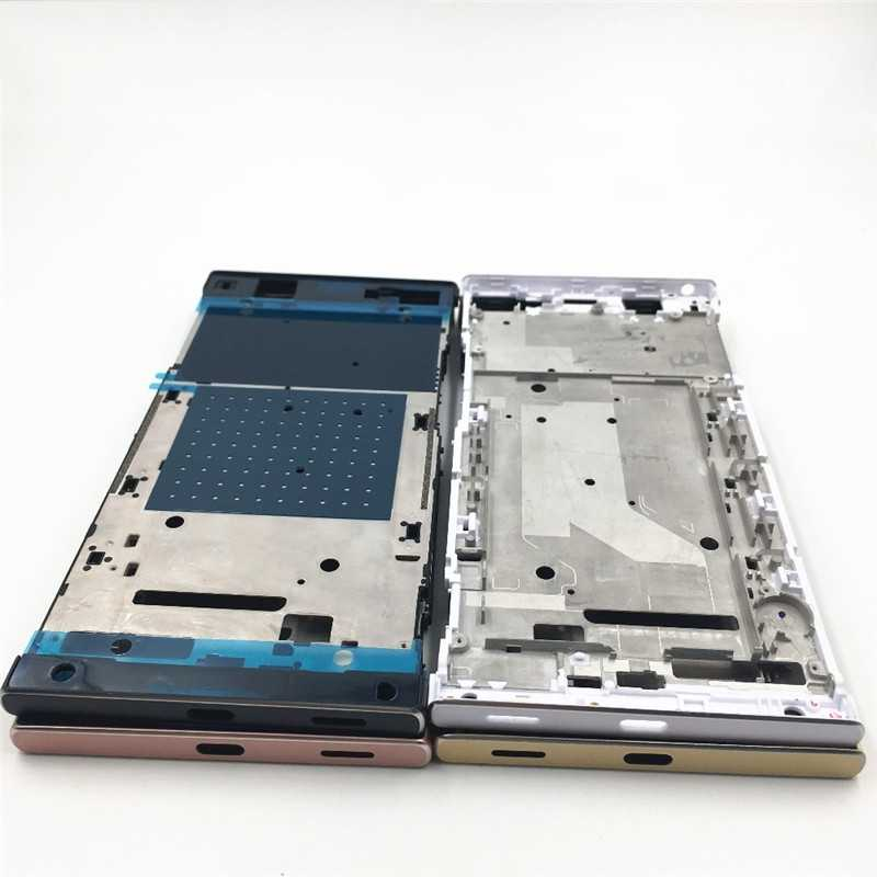 Boîtier d'origine pour cadre avant moyen pour Sony Xperia XA1 Ultra G3221 G3212 LCD support d'écran pièces de rechange pour cadre