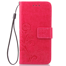 Funda Clover Book Case For Huawei Ascend G7 L01 L03 C199 PU
