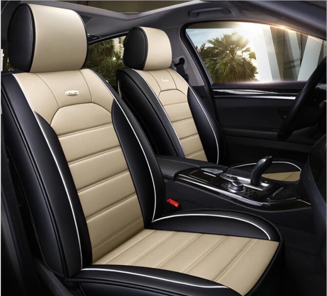 2 x Fronts Honda CR-V 2007-11 Panther Black Faux Fur Car Seat ...