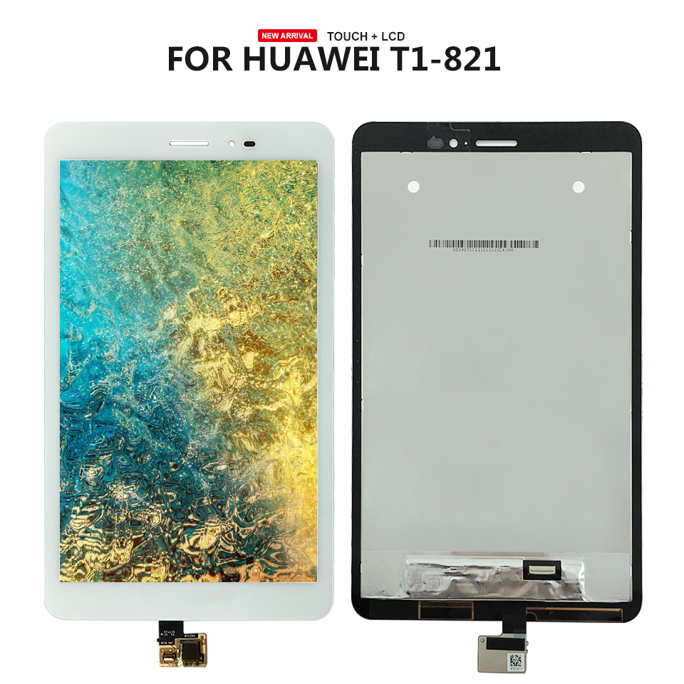 8 For Huawei MediaPad T1 8.0 Pro 4G T1-821L T1-821W T1-823L T1-821 LCD Display Touch Screen Panel Assembly