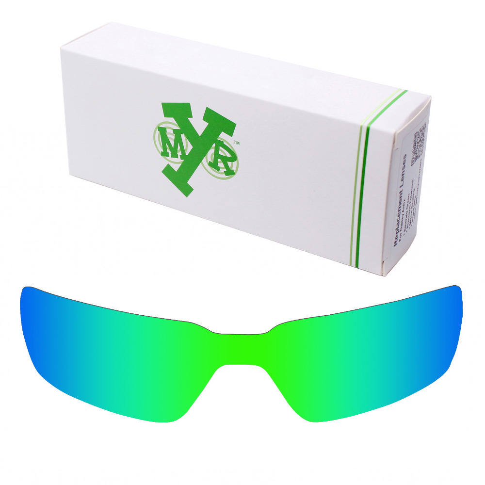 9ada4f6572 Mryok POLARIZED Replacement Lenses for Oakley Probation X-Metal Sunglasses  Emerald Green