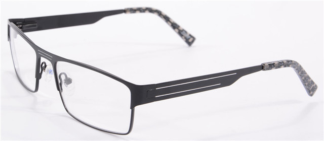 brand designer eyeglasses men metal glasses frame optical glasses frames prescription lense 1643