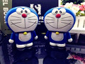 High Quality  8000mAh USB power bank Cartoon Doraemon Battery external emergency charger for iPhone6 samsung galaxy s6