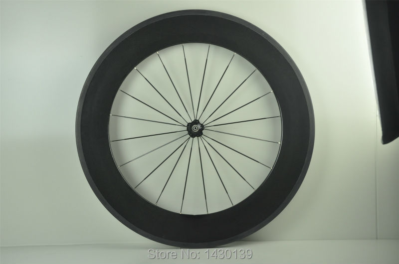 1pcs New 700C 88mm tubular rims Road Track Fixed Gear bike 3K UD 12K full carbon bicycle wheelsets aero spokes skewers Free ship carbon wheels 700c 88mm depth 25mm bicycle bike rims 3k ud glossy matte road bicycles rims customize carbon rims