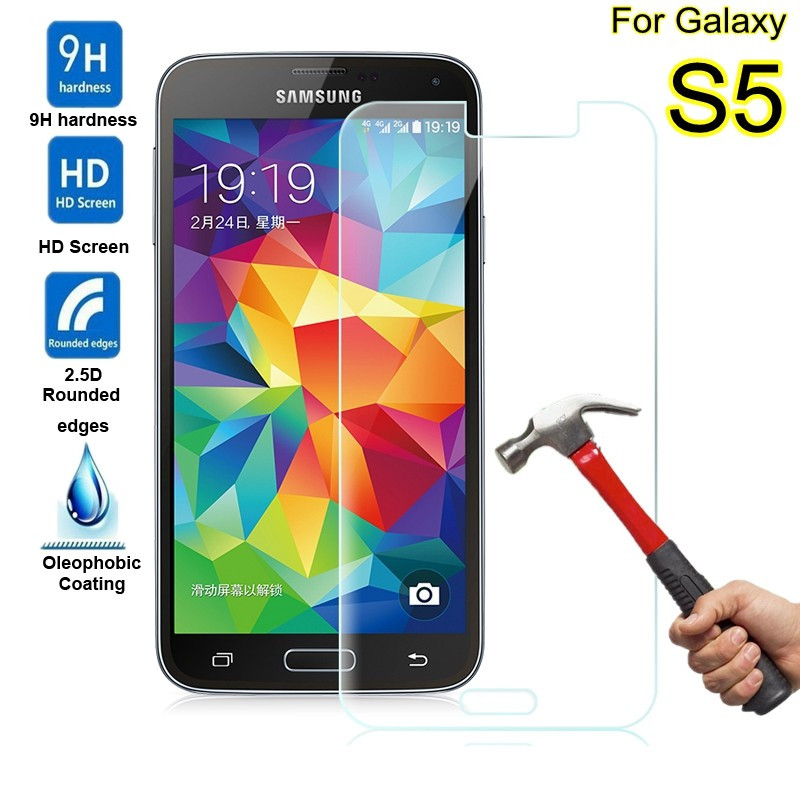 Screen Protector For Samsung Galaxy S5 Tempered Glass For Samsung Galaxy S7 S6 S4 mini A3 A5 J1 J5 J2 PRINE Grand Prime G360