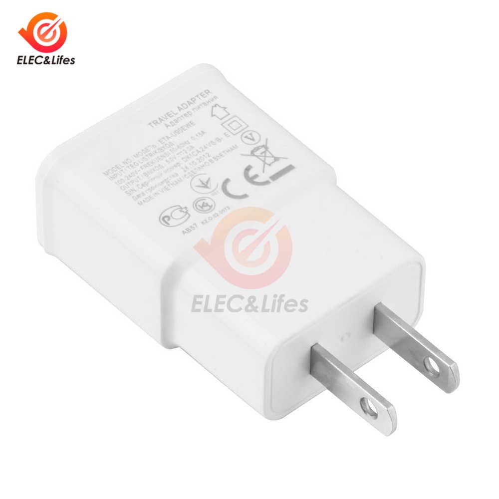 Đa Năng Điện AC Sạc Tường 5V 2A USB Du Lịch Di Động Điện Thoại Sạc Adapter EU Mỹ Cắm Cho iPhone Samsung xiaomi Huawei iPad