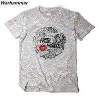 Arctic Monkeys New Summer T Shirt Men Arctic Monkeys Rock Band Fans 3D Shirt Hip Hop