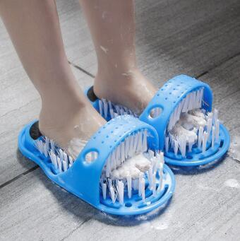 Foot Washing Brush With Suction Cups Massage Rub Foot Brush Remove Dead Skin Calluses Slippers Bath Tools & Accessories HA139