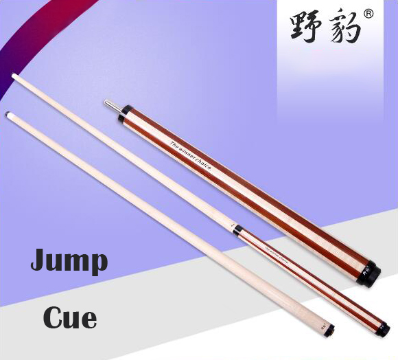 YEBAIO 1/2 Piece Jump Cue Jump Cues Sticks Kit 13mm Tip 106cm Stick Billiard Jump Cues Stick 3 Teeth for Professional Player Use