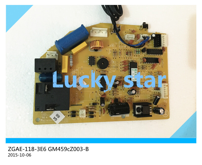 95% new for Air conditioning computer board ZGAE-118-3E6 GM459cZ003-B PC board good working tle4729g automotive computer board