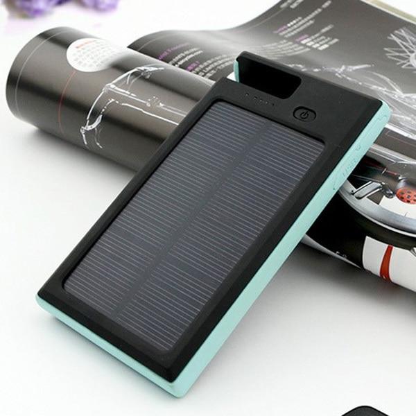 Tri proof Solar Charger Battery Sun Lights Power Generator Also Bracket For Phone 2 USB Output Power Bank Baterias Externas