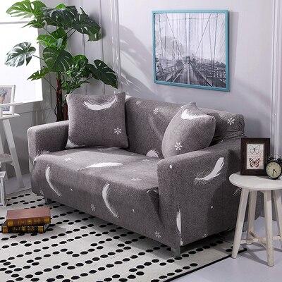 US $17.54 55% OFF|Modern Sofa Cover All inclusive Slip resistant Cheap Sofa  Towel Elastic Corner Sofa Sectional Covers Spandex Sofa Slipcover 1PC-in ...