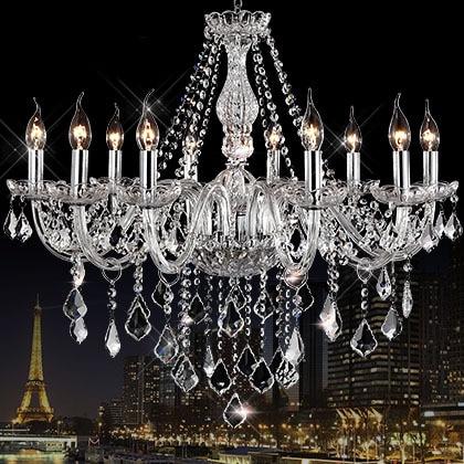 AC110V/220V Noble Luxurious Export K9 Clear Crystal ...