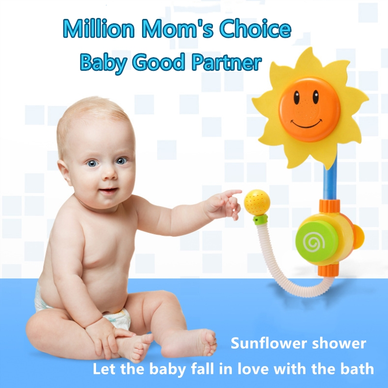Baby Children Non Toxic Bath Toys Spray Bathing room Shower Accessories Funny Lovely Bathtub Toy Gift For Children Kids