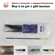 Buy 6 To Get 1 Gift Incense and Trackable Shipping 1 Bag 18sticks Indian Style