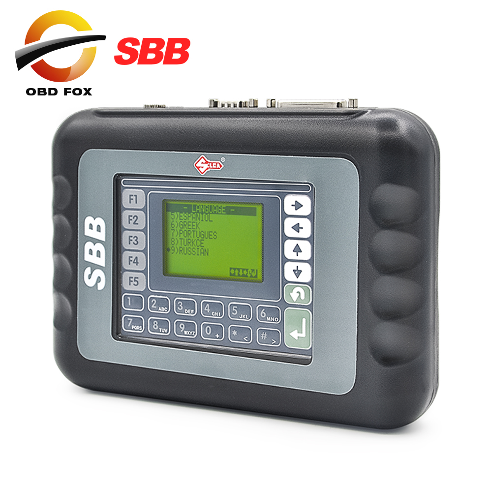 SBB Slica key programmer V33 02 Support 9 languages Key maker SBB programador de chave Free