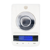 50pcs by DHL /FEDEX 0.001g 50g High PrecisionJewelry Diamond Gem Carat Scales Digital Electronic Counting Function Portable