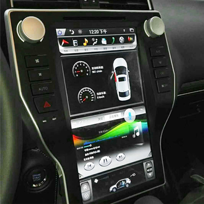 Perfect LiisLee Car Multimedia GPS Hi-Fi Audio Radio Stereo For TOYOTA Land Cruiser Prado J150 LC150 2018 Original Style Navigation NAVI 3