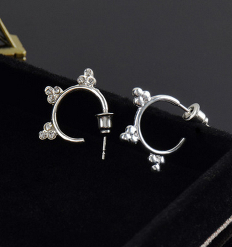 T - Korean tassel earrings star with tremella nail song Korean drama popular fashion sun temperament jewelry wholesale