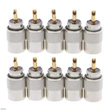 10 шт., разъемы для коаксиального кабеля RG8X