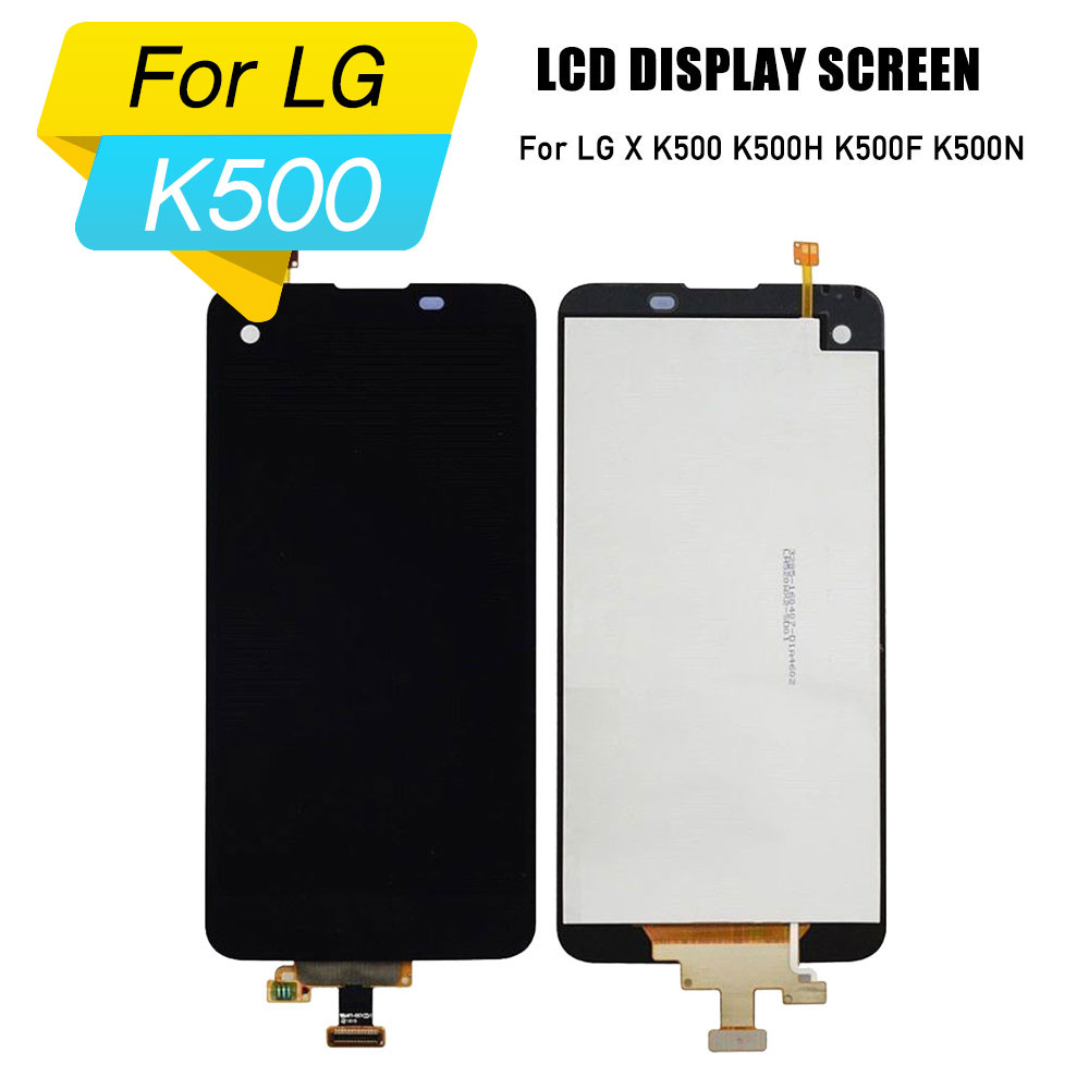 lcd display for LG X lcd screen digitizer touch assembly for LG X K500 K500H K500F K500N touch screen replacements