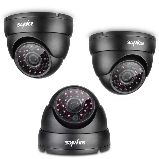 SANNCE 1200TVL CCTV Camera 1280*720P 1.0MP ONVIF 2.0 H.264 Waterproof Camera With IR-Cut Night Vision For Surveillance System